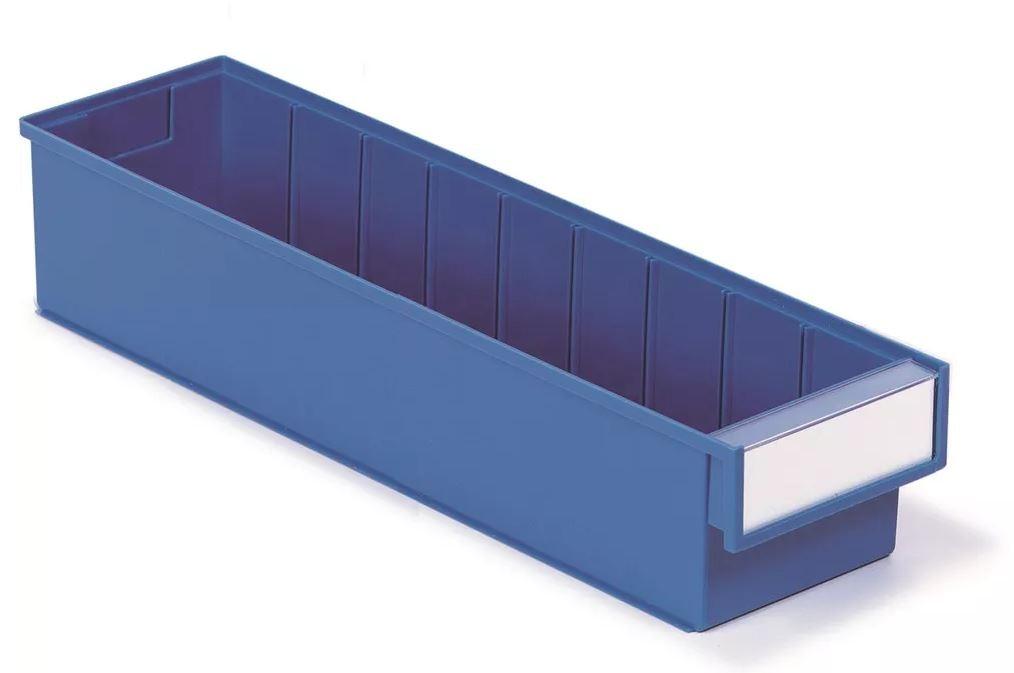 Treston Magazijnbak 500 x 132 x 100 mm Blauw