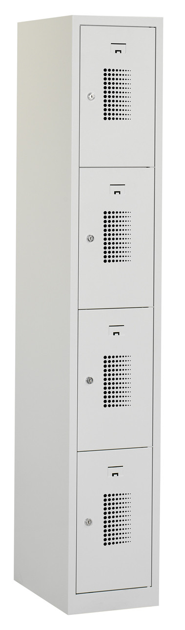 Flex Lockerkast 1x4-vaks (180x30x50cm)