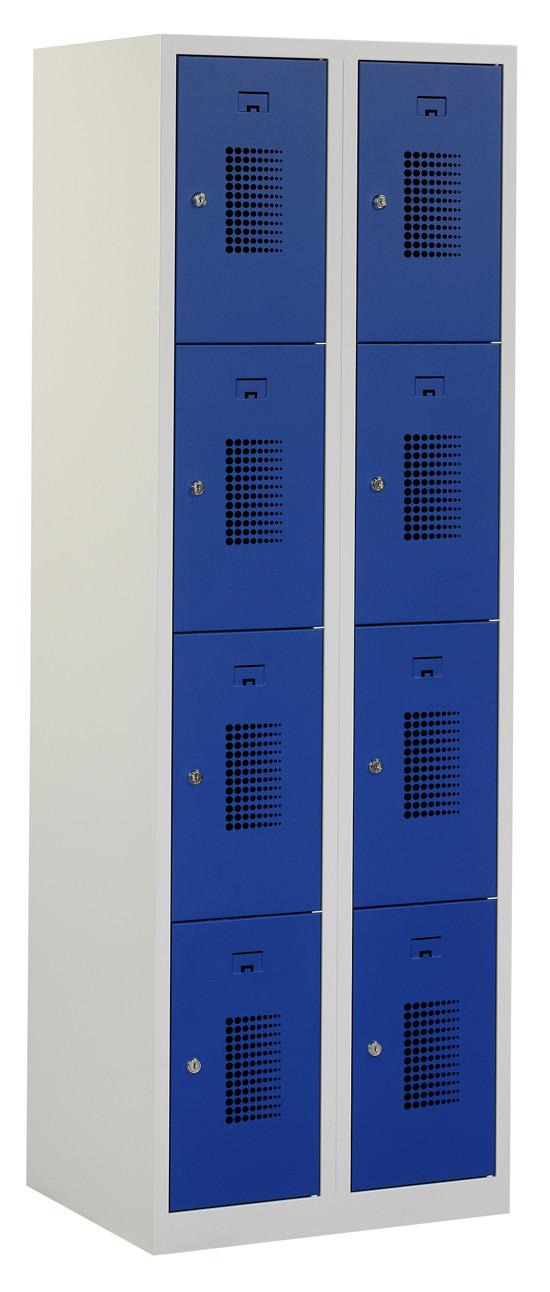 Flex Lockerkast 2x4-vaks (180x60x50cm)