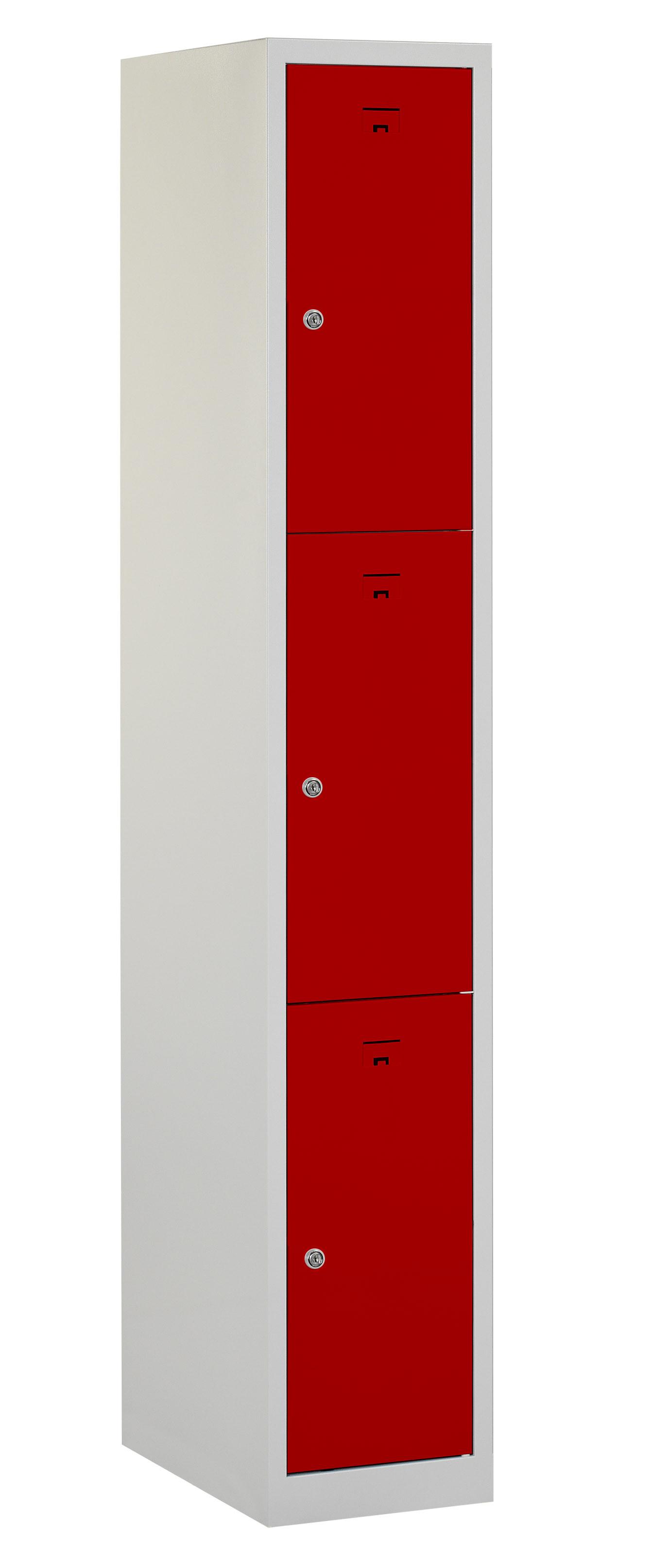Flex Lockerkast 1x3-vaks (180x30x50cm)