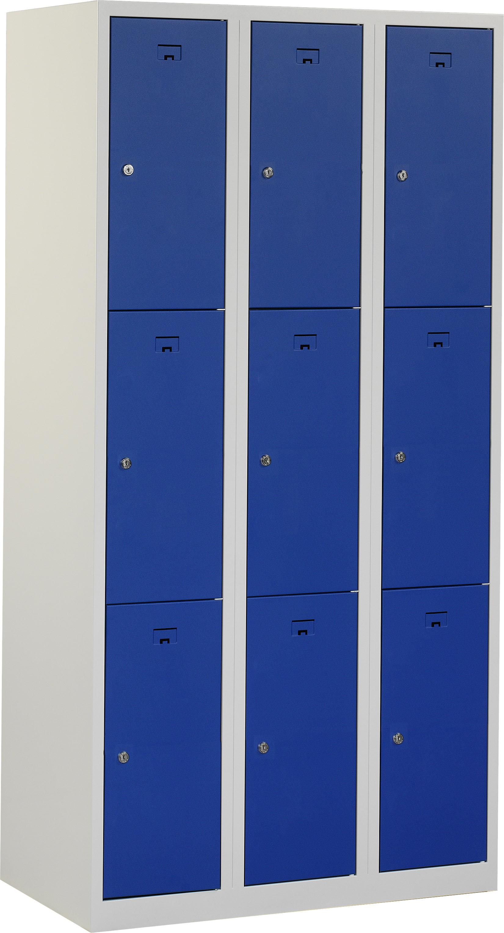 Flex Lockerkast 3x3-vaks (180x90x50cm)