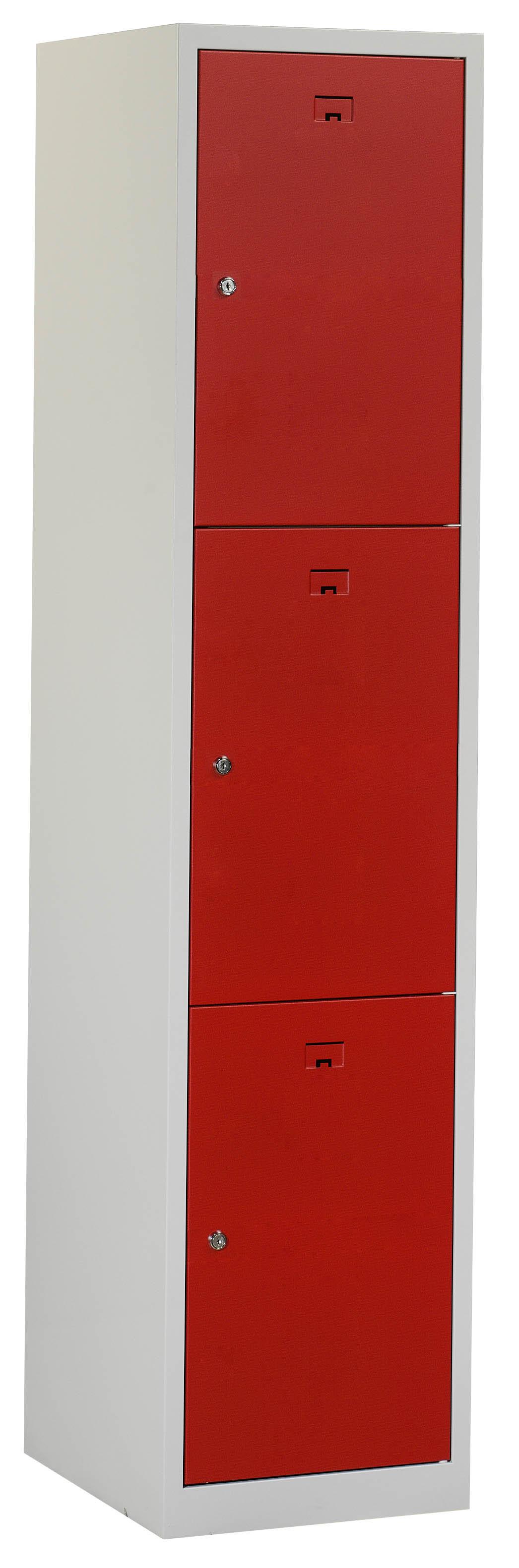 Flex Lockerkast 1x3-vaks (180x40x50cm)