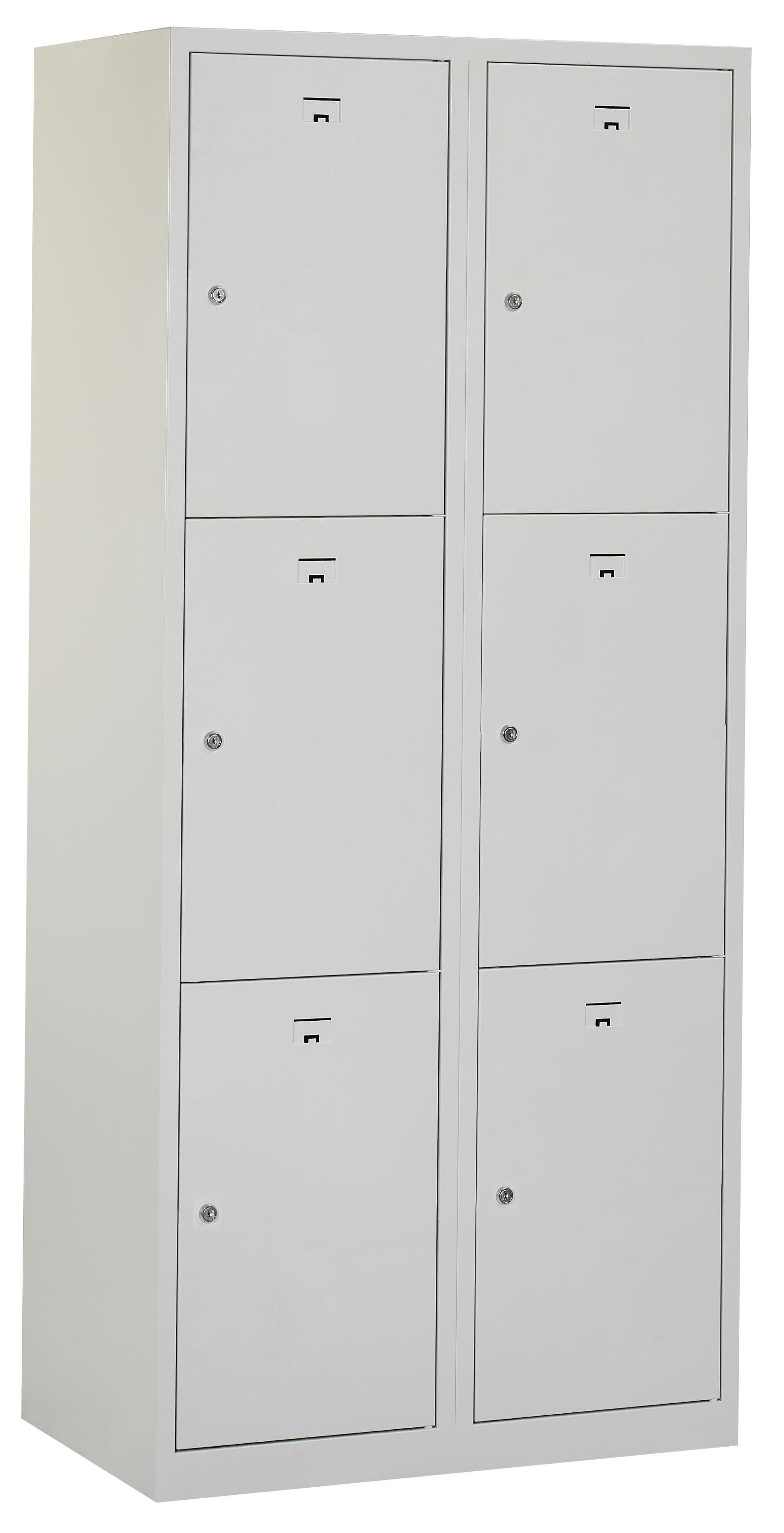 Flex Lockerkast 2x3-vaks (180x80x50cm)