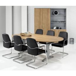 Buroflex 2T ovale vergadertafel