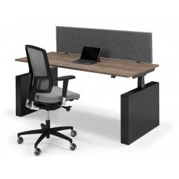 Flex 3 electrisch Zit/Sta bureau met wang