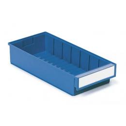 Treston Magazijnbak 400 x 186 x 82 mm Blauw