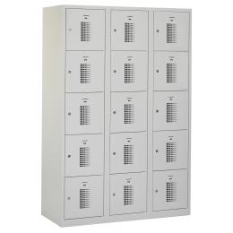 Flex Lockerkast 3x5-vaks (180x120x50cm)