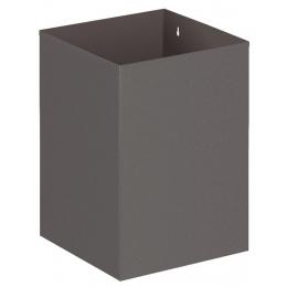 Vierkante papierbak 21 liter
