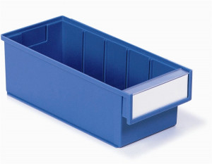 Treston Magazijnbak 300 x 132 x 100 mm Blauw