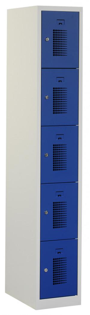 Flex Lockerkast 1x5-vaks (180x30x50cm)