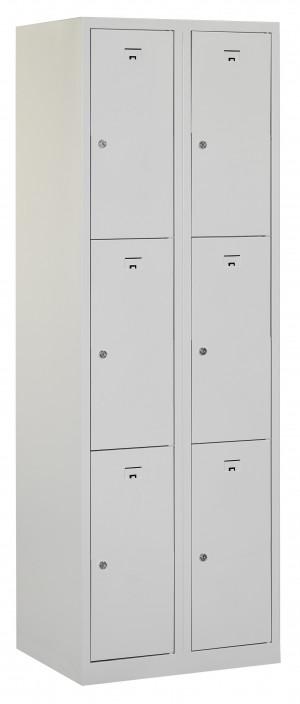 Flex Lockerkast 2x3-vaks (180x60x50cm)